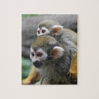 Squirrel Monkey Family Affair Puzzle