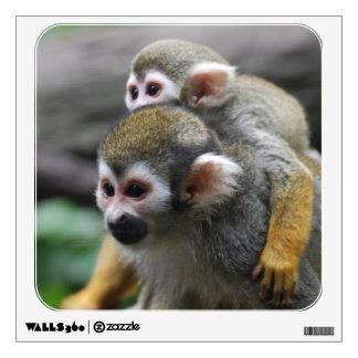 Squirrel Monkey Family Affair Room Graphics
