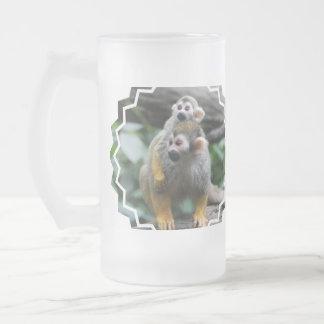 Squirrel Monkey Family Coffee Mug