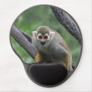 Squirrel Monkey Gel Mouse Pad