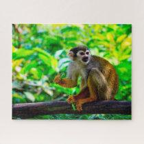 Squirrel Monkey. Jigsaw Puzzle