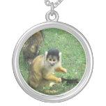 Squirrel Monkey Necklace