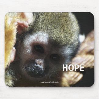 Squirrel Monkey profile Mousepad
