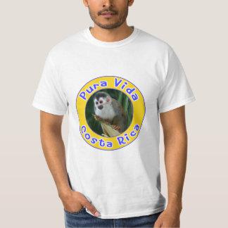 Squirrel Monkey, Pura Vida, Costa Rica T Shirt