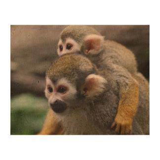 Squirrel Monkey Cork Paper
