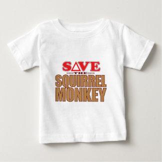 Squirrel Monkey Save Baby T-Shirt
