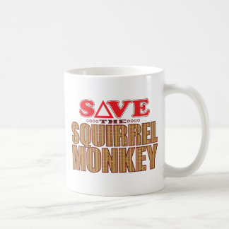 Squirrel Monkey Save Coffee Mug