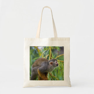 Squirrel Monkey Tote Bag