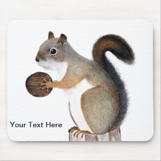 Squirrel Mouse Pad