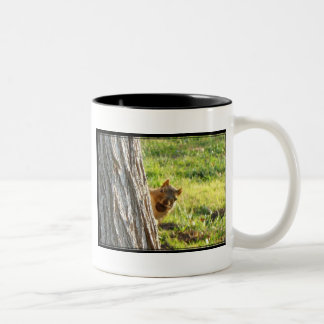 Squirrel mug