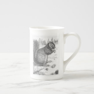 Squirrel Mug for lefty or righty