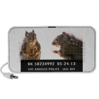Squirrel Mug Shot Speakers