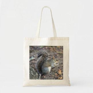 Squirrel Munching on an Acorn Tote Bag