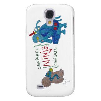 Squirrel Ninja / Ninja Squirrel Cartoon Samsung Galaxy S4 Covers