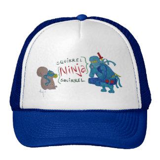 Squirrel Ninja / Ninja Squirrel Cartoon Trucker Hat