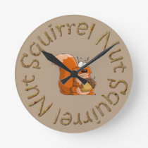 squirrel nut clock