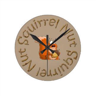squirrel nut clock
