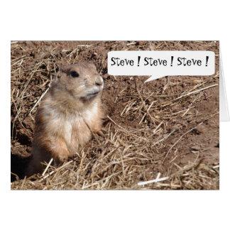 Squirrel Nutjob Birthday Card