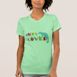 Squirrel Nuts Lover Tee Shirts