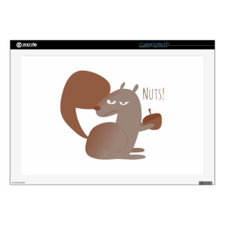 Squirrel Nuts! Skin For Laptop