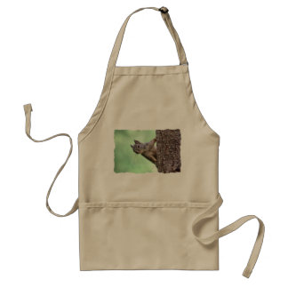 Squirrel On a Tree Adult Apron