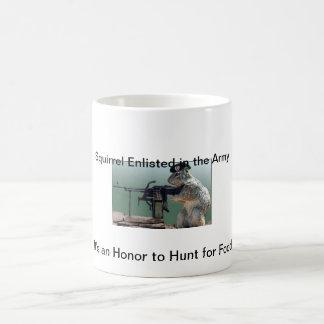 Squirrel on Classic White Mugs