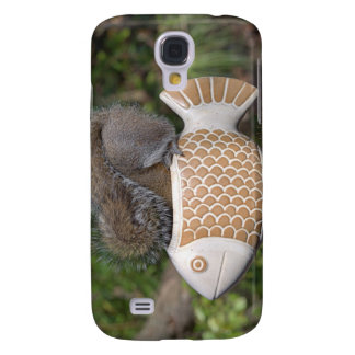 Squirrel on Fish Samsung Galaxy S4 Case