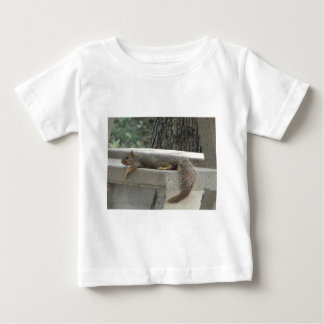 Squirrel on picnic table baby T-Shirt