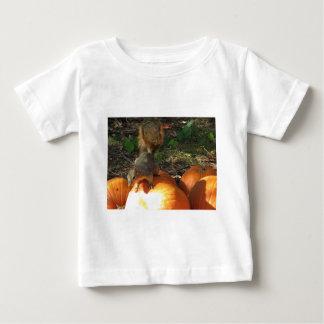 Squirrel on pumpkin baby T-Shirt