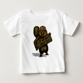 Squirrel on the Hunt Baby T-Shirt