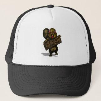 Squirrel on the Hunt Trucker Hat