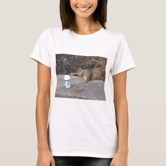 Squirrel on The Loose T-Shirt