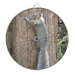 Squirrel on Tree Dartboard
