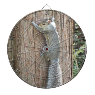 Squirrel on Tree Dartboard