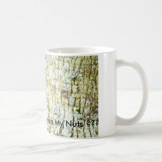 Squirrel on Tree, Where are My Nuts ??? Coffee Mug