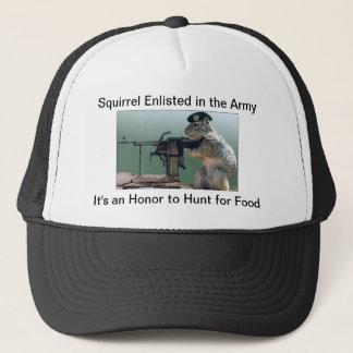 Squirrel on Trucker Hats