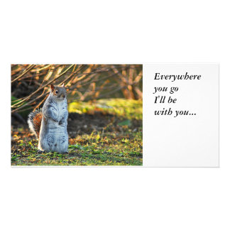 Squirrel or a Meerkat, Photo Card