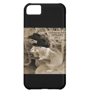 Squirrel Outlaws In The Old West iPhone 5C Cases