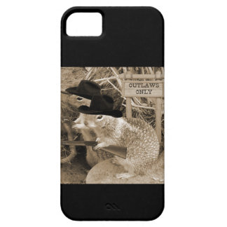 Squirrel Outlaws In The Old West iPhone 5 Cover