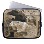 Squirrel Outlaws In The Old West Laptop Computer Sleeves