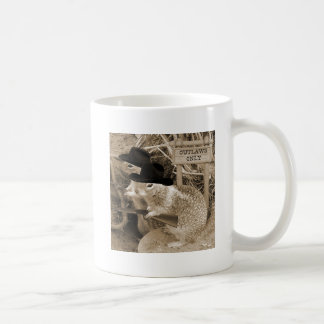 Squirrel Outlaws In The Old West Mug