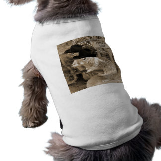 Squirrel Outlaws In The Old West Shirt