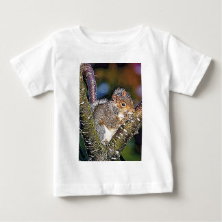 Squirrel Painting Baby T-Shirt