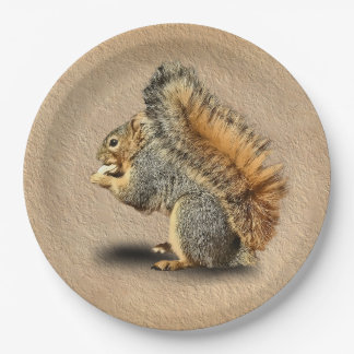 SQUIRREL PAPER PLATE