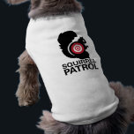 """Squirrel Patrol Dog Shirt<br><div class=""""desc"""">Even with this warning,  the squirrels will tremble when your pooch hits the park!</div>"""