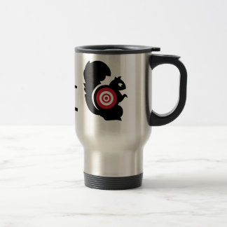 Squirrel Patrol 15 Oz Stainless Steel Travel Mug