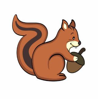 Squirrel Photo Sculpture