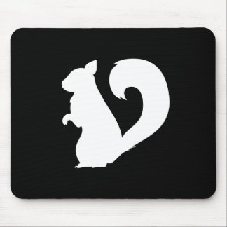 Squirrel Pictogram Mousepad