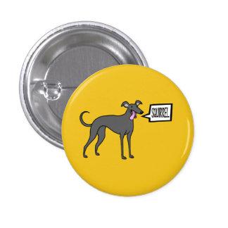 Squirrel! Pinback Button