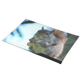 Squirrel Placemat Cloth Placemat